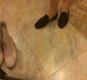 Туфли лоферы замшевые Le Folle