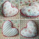 Подушка сердце. Декоративная подушка