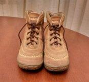 Ботинки кожа.24