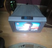 Тв Акай 54 см с плоским экраном