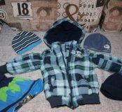 Фирменная курточка и шапочки