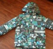 Фирменная зимняя куртка huppa на рост 140-146 см