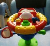 Игрушка руль на присоске