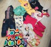 Мешок одежды девочке 12-18 мес. (86 см)
