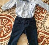 Рубашка и штанишки H&M