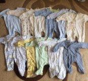Вещи для новорождённого от 50-60 см