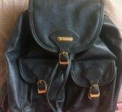 Кожа рюкзак