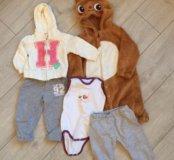 Мешок одежды для девочки 68-86 см