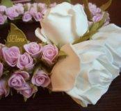 Венок из роз для фотосессии