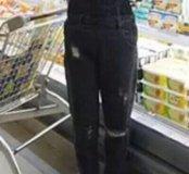 Комебенизон джинсовый новый