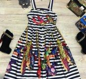 Новое платье в стиле DG