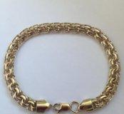 Новый золотой браслет Бисмарк 585 пр. 22.49 гр.