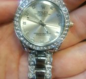 Часы женские серебряные Rolex