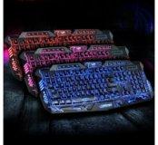 Клавиатура с подсветкой.