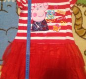 НОВОЕ. Платье Свинка Пеппа