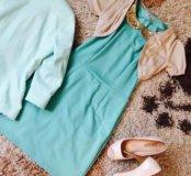 Платье, пиджак , босоножки