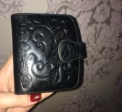 Кожаный кошелёк портмоне Dr. Koffer