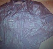 Новая куртка р.42-44 нат.кожа Испания