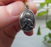 Нательная иконка Святая Юлия