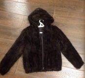Новая куртка из вязаной норки