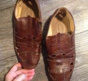 Мужские ботинки туфли мокасины