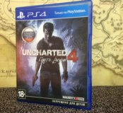 Uncharted 4 на PS 4
