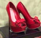 Лаковые туфли (нат.кожа)