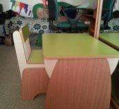Столик и стульчик детский, новый.