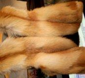 Жилетка меховая из лисы