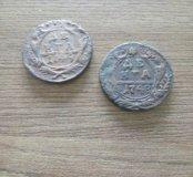 Продам монеты Денга 1748, 1749 г.