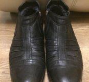 Зимние мужские туфли