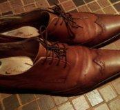 Кожаные туфли 43