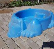 Песочнича бассейн.