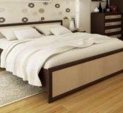 Кровать с матрасом. Новая!!