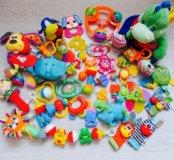 Пакет игрушек погремушек 31 шт