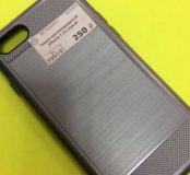Чехол противоударный iPhone 7(1) серый