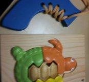 Деревянные игрушки.