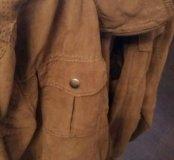 Продам куртку весеннюю/лёгкую(под замшу)