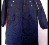Пальто на синтепоне Sela 8лет