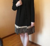 Пальто,платье Sandro Ferrone