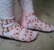 """Кожаные сандалии """"Ангелочек"""""""