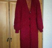 Пальто женское вязанное р62