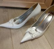 Туфли свадебные кожа