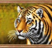 """Картина бисером """"Тигр"""""""