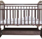 Новая кровать Агат. Маятник с ящиком