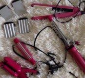 Приборы для волос (4 шт)