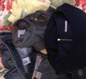 Вещи пакетом ( куртка, платье, джинсы и свитера)