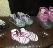 Обувь для девочки р.28-29