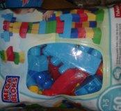 """Mega Bloks (Мега Блокс) для малышей """"Большой набор"""
