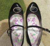 Туфли на каблуке женские с застёжкой